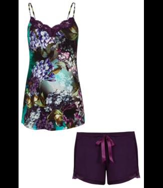 Cybele Pyjama met shorty Paars 7-810335