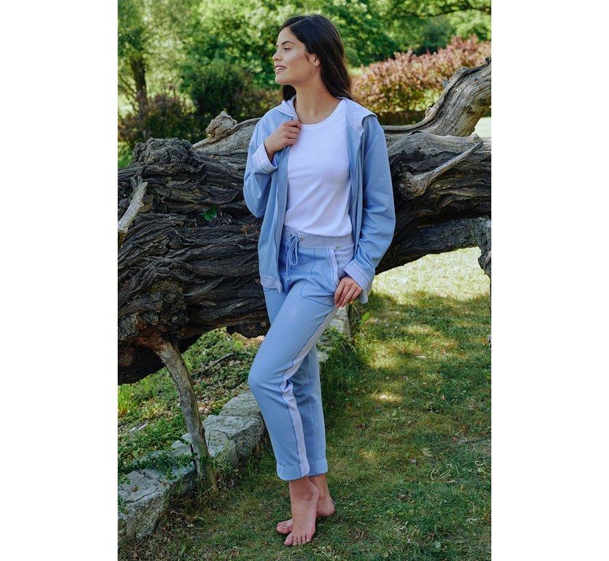 Broek loungewear Blauw/grijs 7-810331