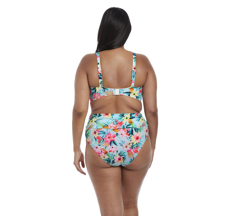 Bikini Bandeau Top Aloha Aqua E3S7153