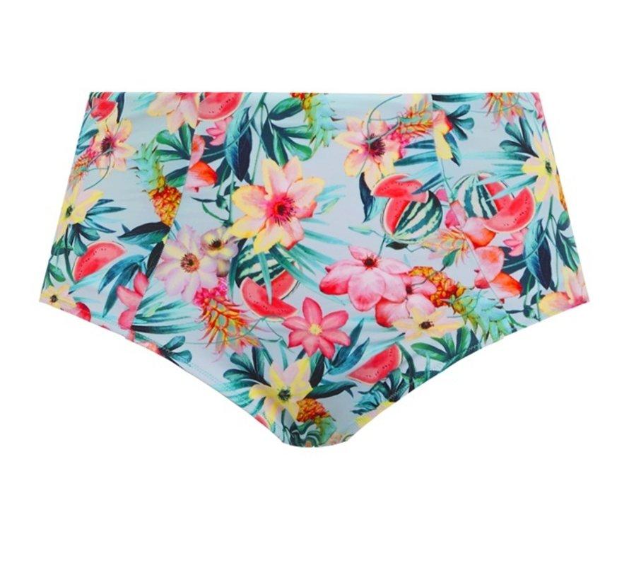 Bikini Classic Slip Aloha Aqua ES7155