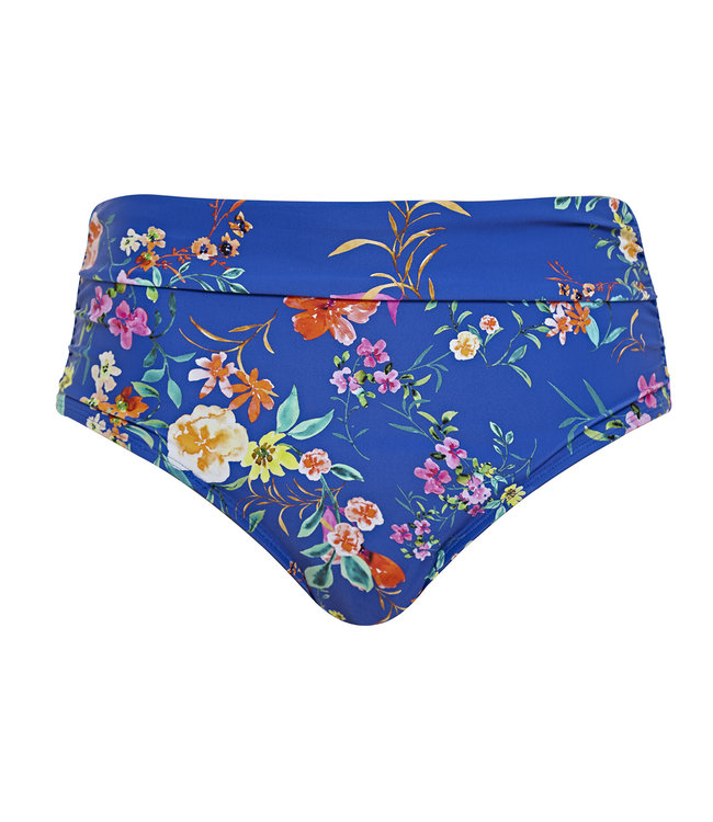 Panache Swim Slip Florentine Cobalt Floral SW1056