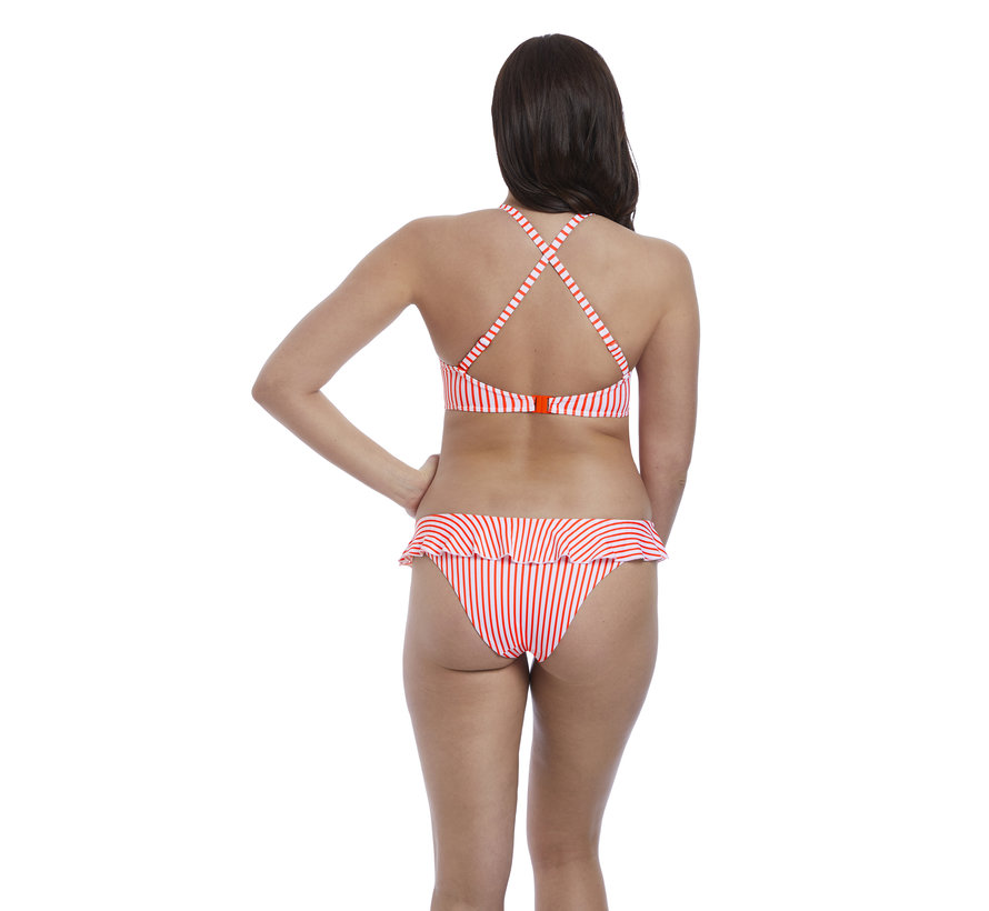 Bikini Top Totally Stripe Flame High Apex AS6550