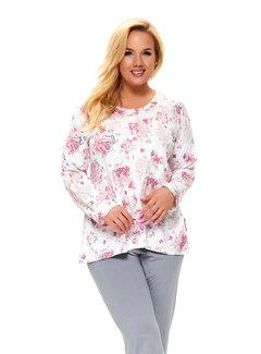 Doctor Nap Pyjama Plus Size Licht Roze PB.9789