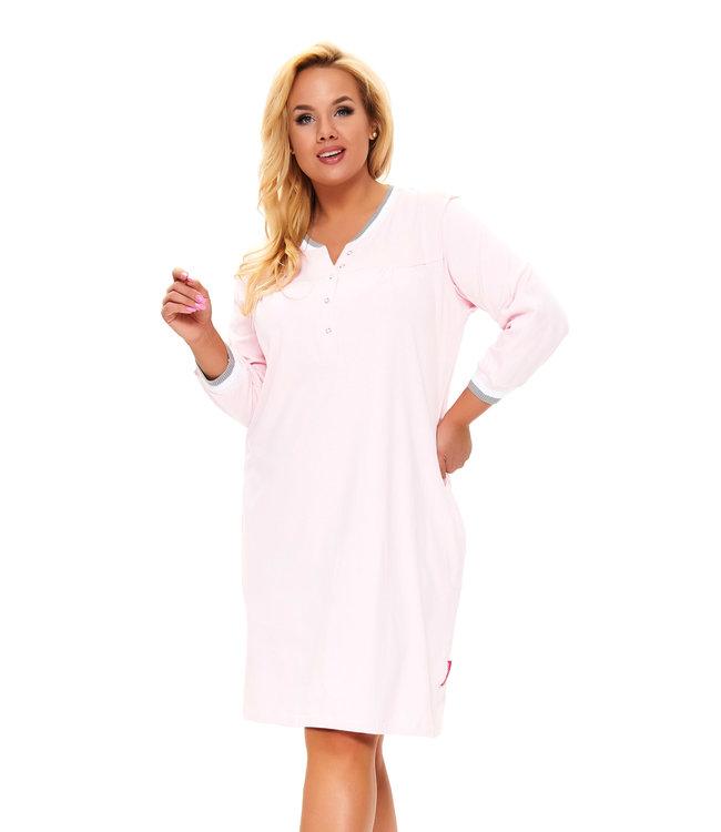 Doctor Nap Nachthemdje Plus Size Licht Roze TB.9792