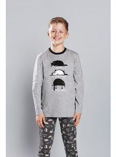 Italian Fashion Familie Pyjama voor kinderen Salem Melange 146