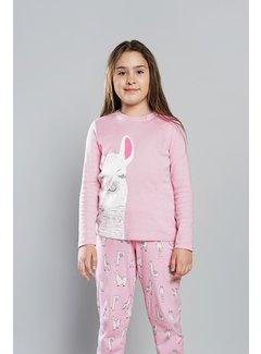 Italian Fashion Familie Pyjama voor kinderen Peru Roze 150