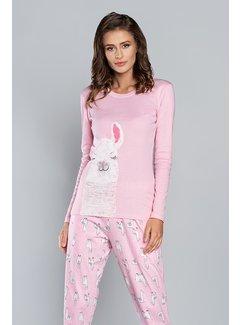 Italian Fashion Familie Pyjama Peru Roze 75