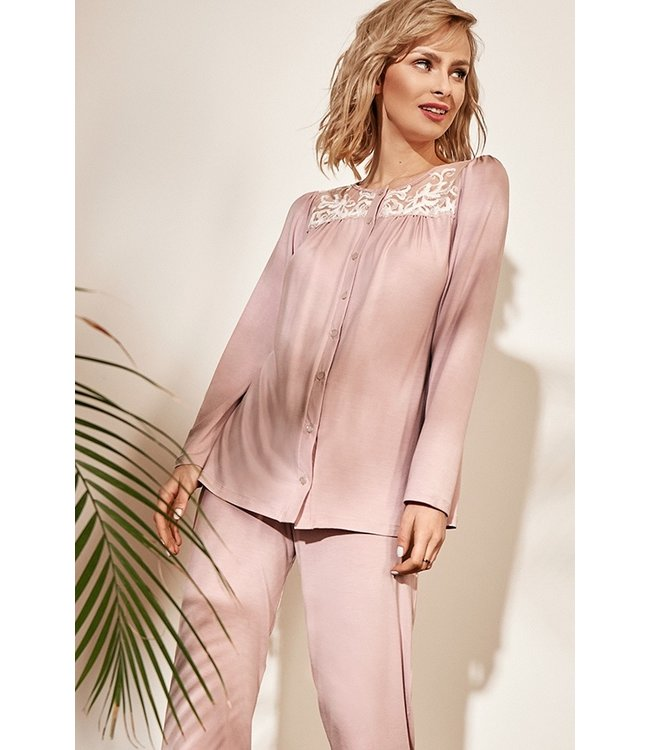 Vanilla Night & Day Pyjama Roze 3315