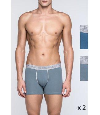 Punto Blanco Set van 2 Boxer shorts Exchange 3342140