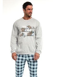 Cornette Familie Pyjama voor papa Koala 115/130