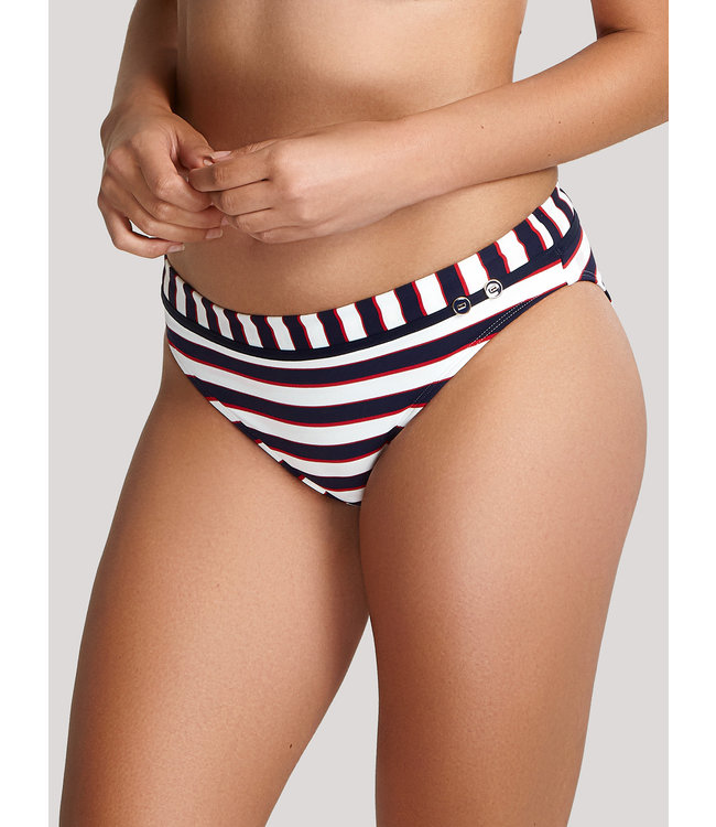 Panache Swim BS-NS - Lucille - Navy Stripe - SW1376