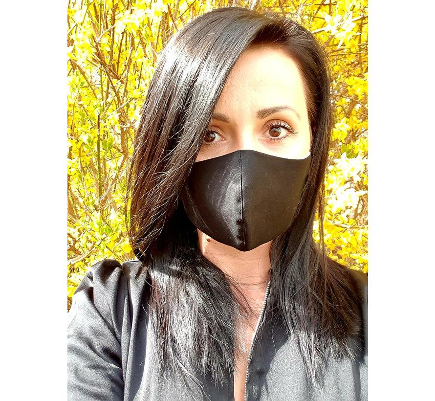 Mondmasker Dames Zwart 0100