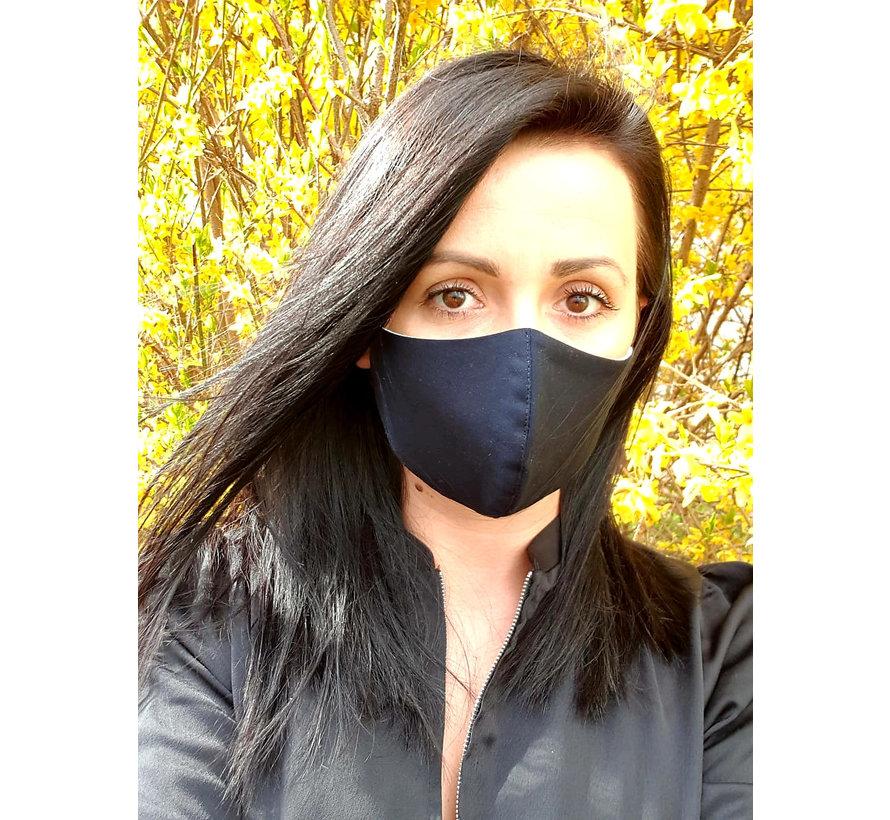 Mondmasker Dames Donker Blauw 0150