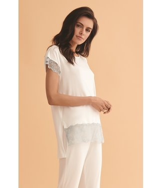 Vanilla Night & Day Pyjama Ecru 3446
