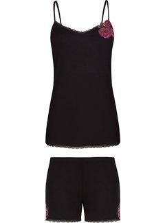 Cybele Pyjama met short Zwart 7-810434