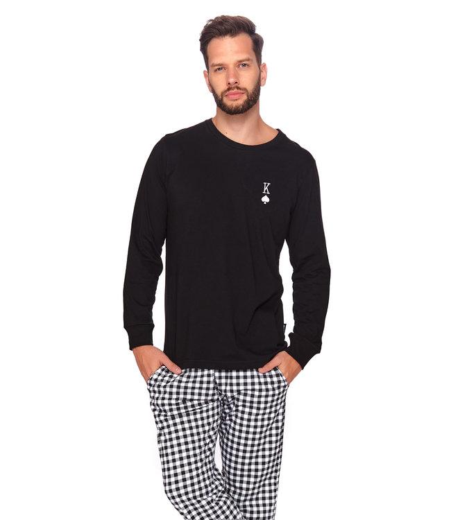 Doctor Nap Pyjama King Zwart PMB.4124