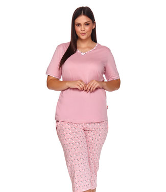 Doctor Nap Pyjama Plus Size Papaya PB.4152