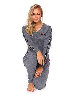 Doctor Nap Pyjama Queen Donker Grijs PM.4111