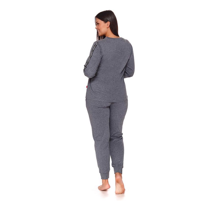 Pyjama Queen Donker Grijs PM.4111