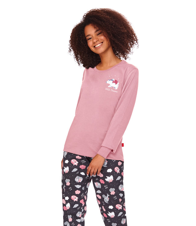 Doctor Nap Pyjama Wild Dreams Papaya PM.4117