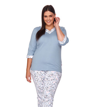 Doctor Nap Pyjama Plus Size Flow PB.4153