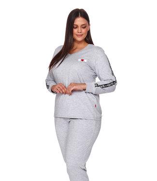 Doctor Nap Pyjama Queen Licht Grijs PM.4111