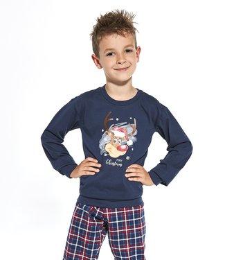 Cornette Familie Pyjama voor jongens Reindeer 593/113 966/113