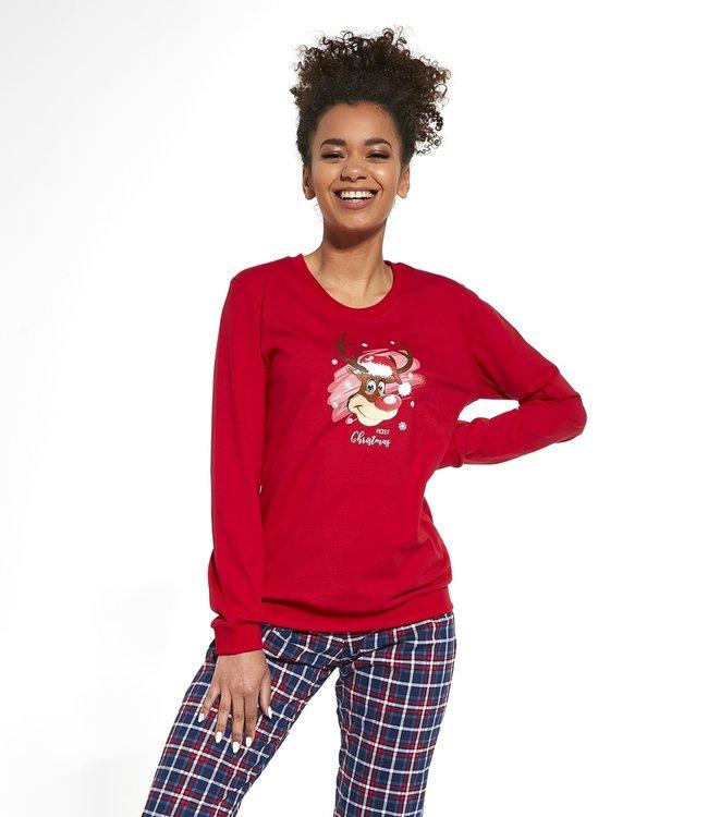 Cornette Familie Pyjama voor mama Reindeer 671/261