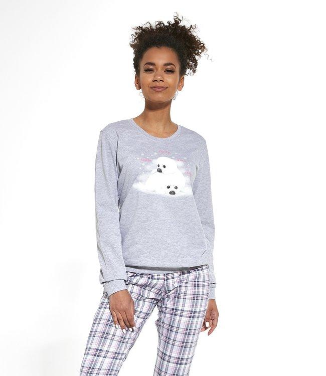 Cornette Familie Pyjama voor mama Seals 671/260