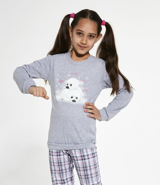 Cornette Familie Pyjama voor meisjes Seals 594/132 592/132