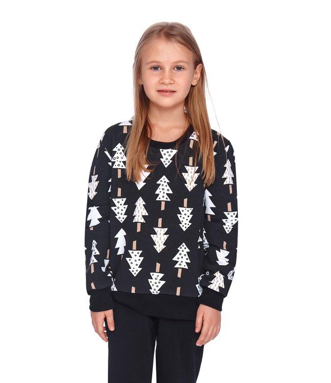 Doctor Nap Familie Pyjama voor kinderen Christmas Tree PDU.4167