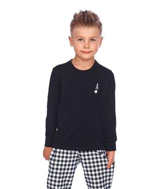 Doctor Nap Familie Pyjama voor kinderen Aas Zwart PDB.4164