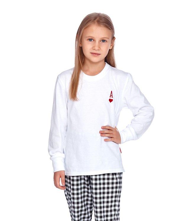 Doctor Nap Familie Pyjama voor kinderen Aas Wit PDG.4163