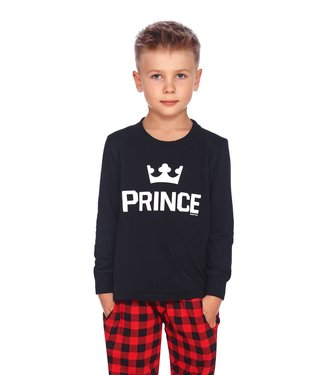 Doctor Nap Familie Pyjama voor jongens Prince Zwart PDB.9749