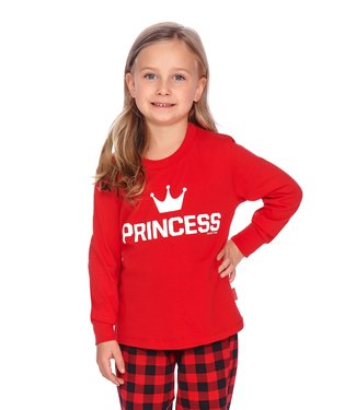 Doctor Nap Familie Pyjama voor meisjes Princess Rood PDG.9750