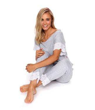 Doctor Nap Pyjama Grey Melange PM.4104