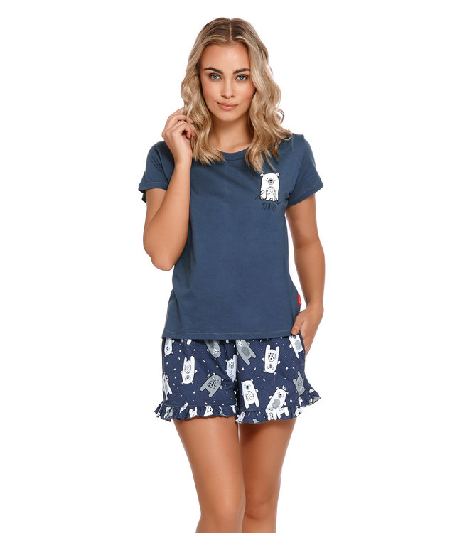 Doctor Nap Pyjama Bear Yourself Deep Blue PM.4219
