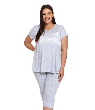 Doctor Nap Pyjama Grey Melange PW.9232