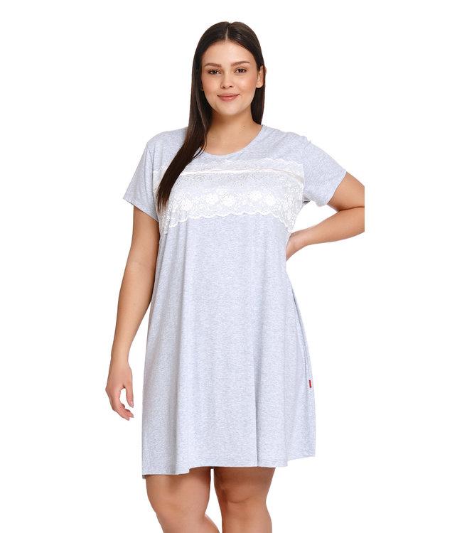 Doctor Nap Nachthemdje Grey Melange TW.9233