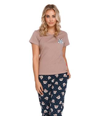 Doctor Nap Pyjama Bears Beige PM.9910