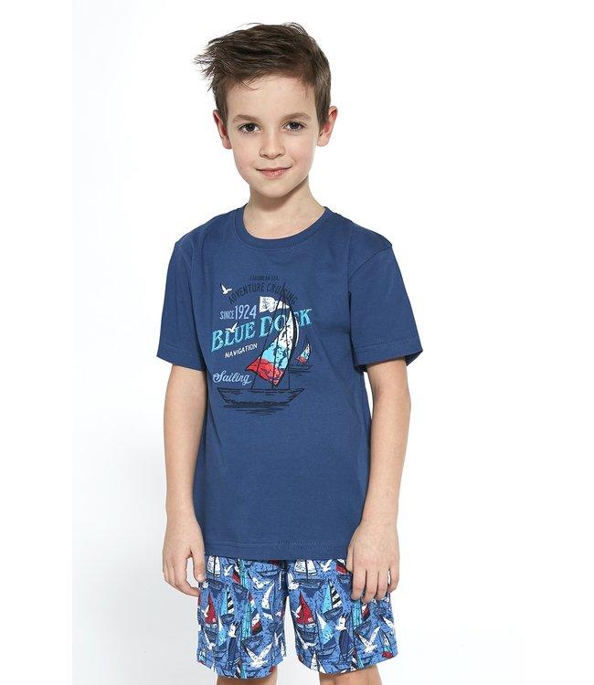 Cornette Pyjama voor jongens Blue Dock 789/96 790/96