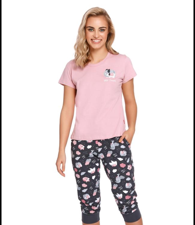 Doctor Nap Pyjama Wild Dreams Papaya PM.4218