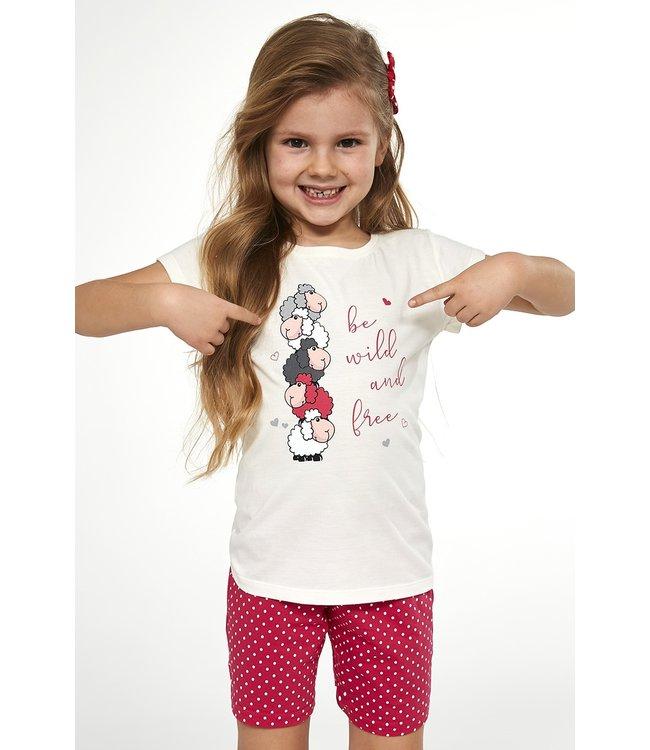 Cornette Pyjama voor meisjes Be Wild 787/82