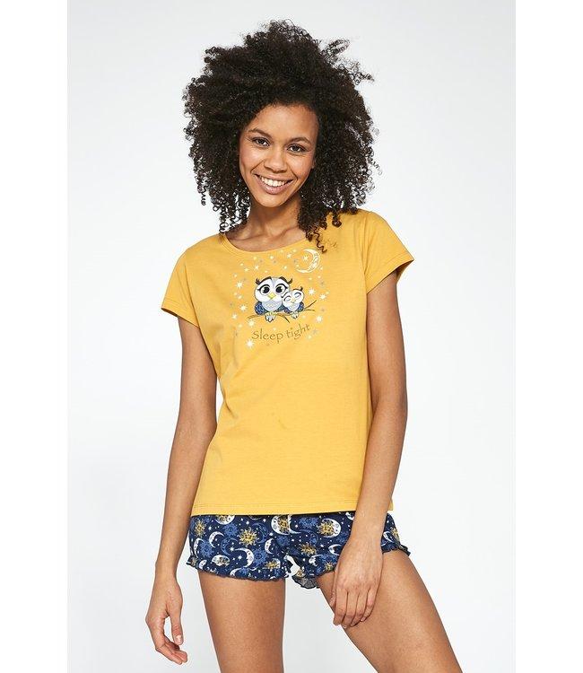Cornette Pyjama voor dames Owls 520/195