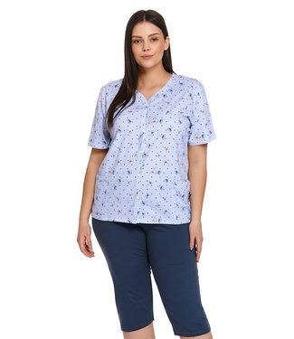 Doctor Nap Pyjama Plus Size Deep Blue PB.4259