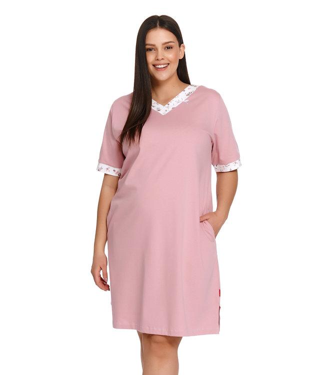 Doctor Nap Nachthemdje Plus Size Papaya TB.9980