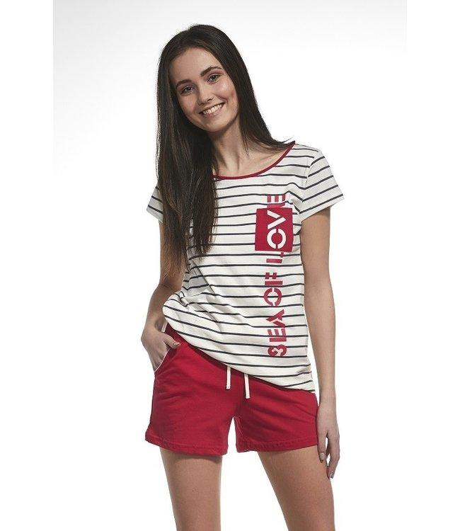 Cornette Pyjama voor oudere meisjes F&Y Sea of Love 276/29