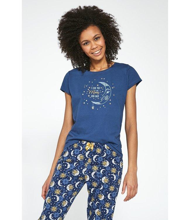 Cornette Pyjama voor dames Moon 2 498/197