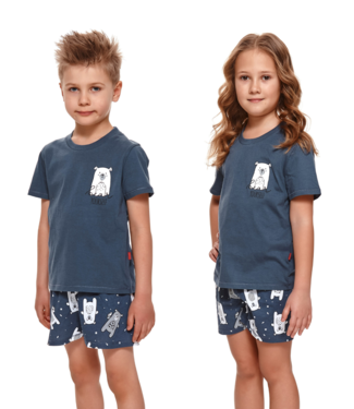 Doctor Nap Pyjama voor kinderen Bear Yourself Deep Blue PDU.4265