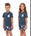 Doctor Nap Pyjama voor kinderen Bear Yourself Deep Blue PDU.4265